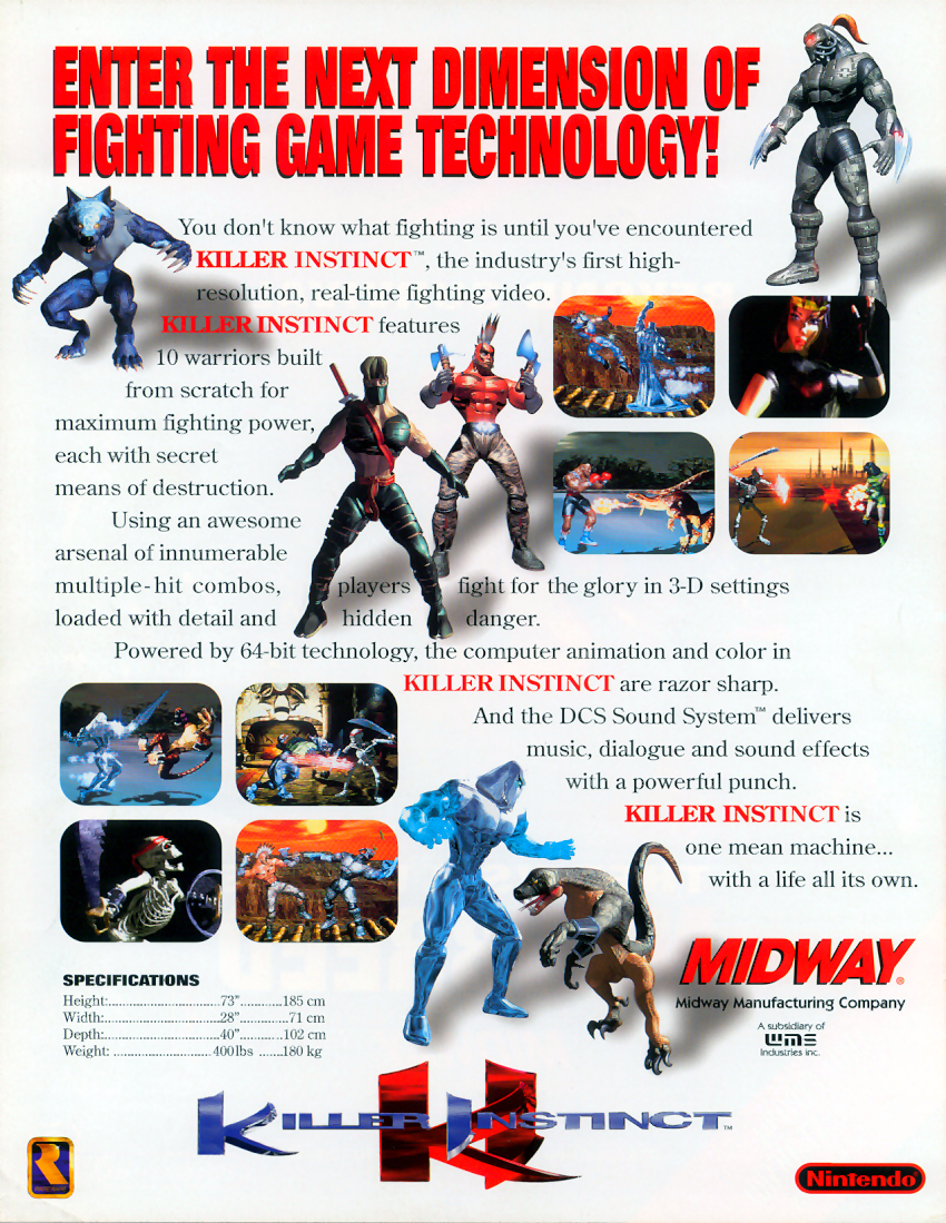Killer Instinct (v1.3) flyer