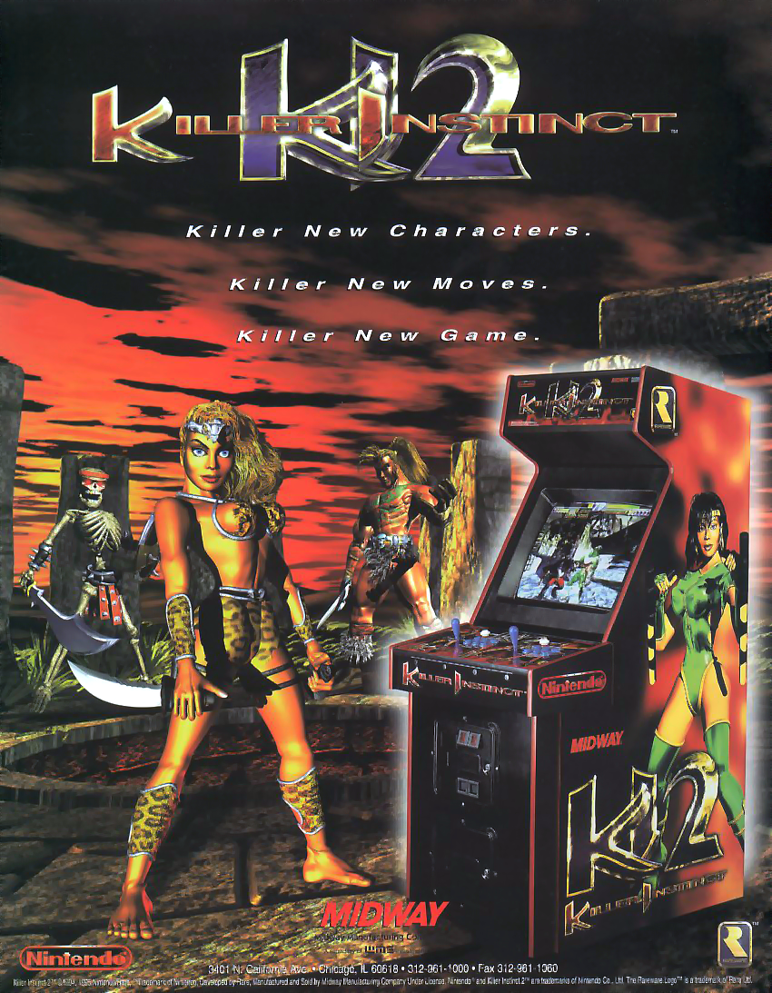 Killer Instinct 2 (v1.4) flyer