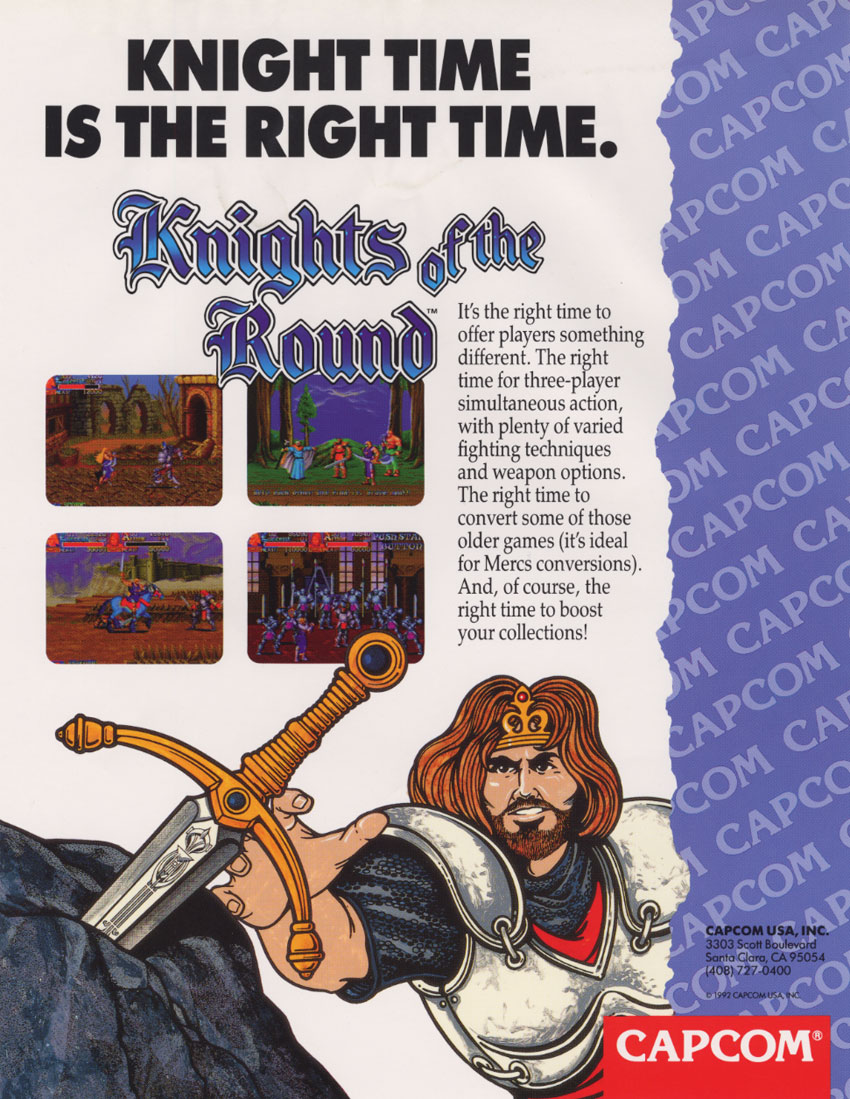 Knights of the Round (bootleg) flyer