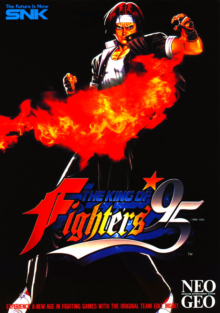 The King of Fighters '95 (NGH-084) flyer