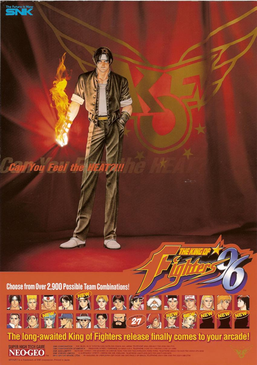 The King of Fighters '96 (Set 1) flyer