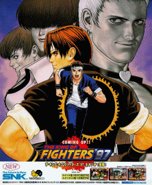 The King of Fighters '97 (NGM-2320) flyer