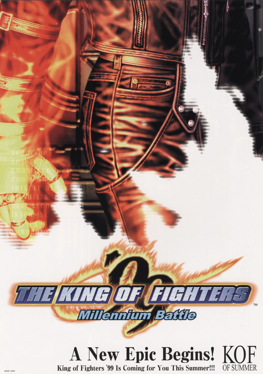 The King of Fighters '99 - Millennium Battle (Korean release) flyer