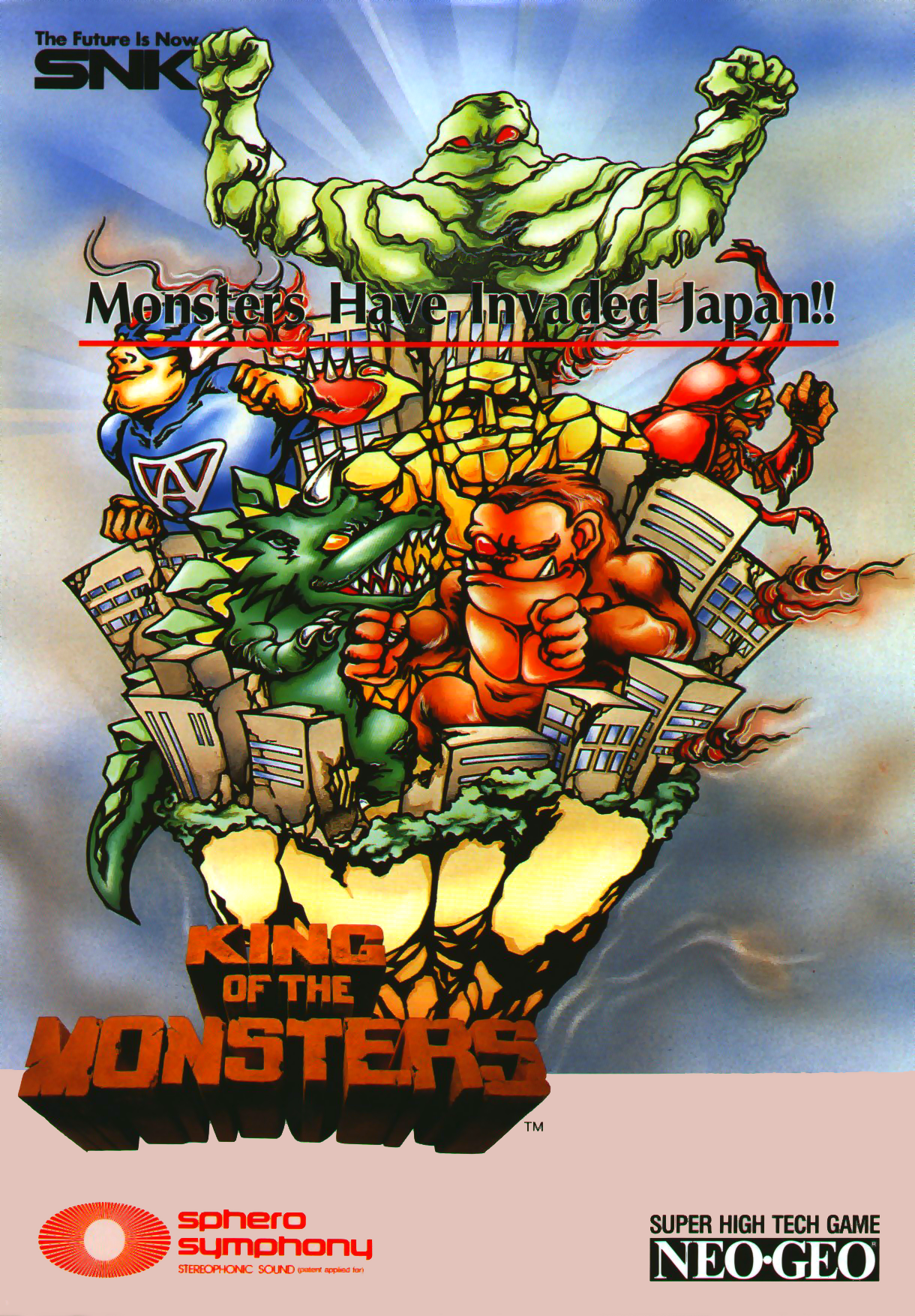 King of the Monsters (set 1) flyer