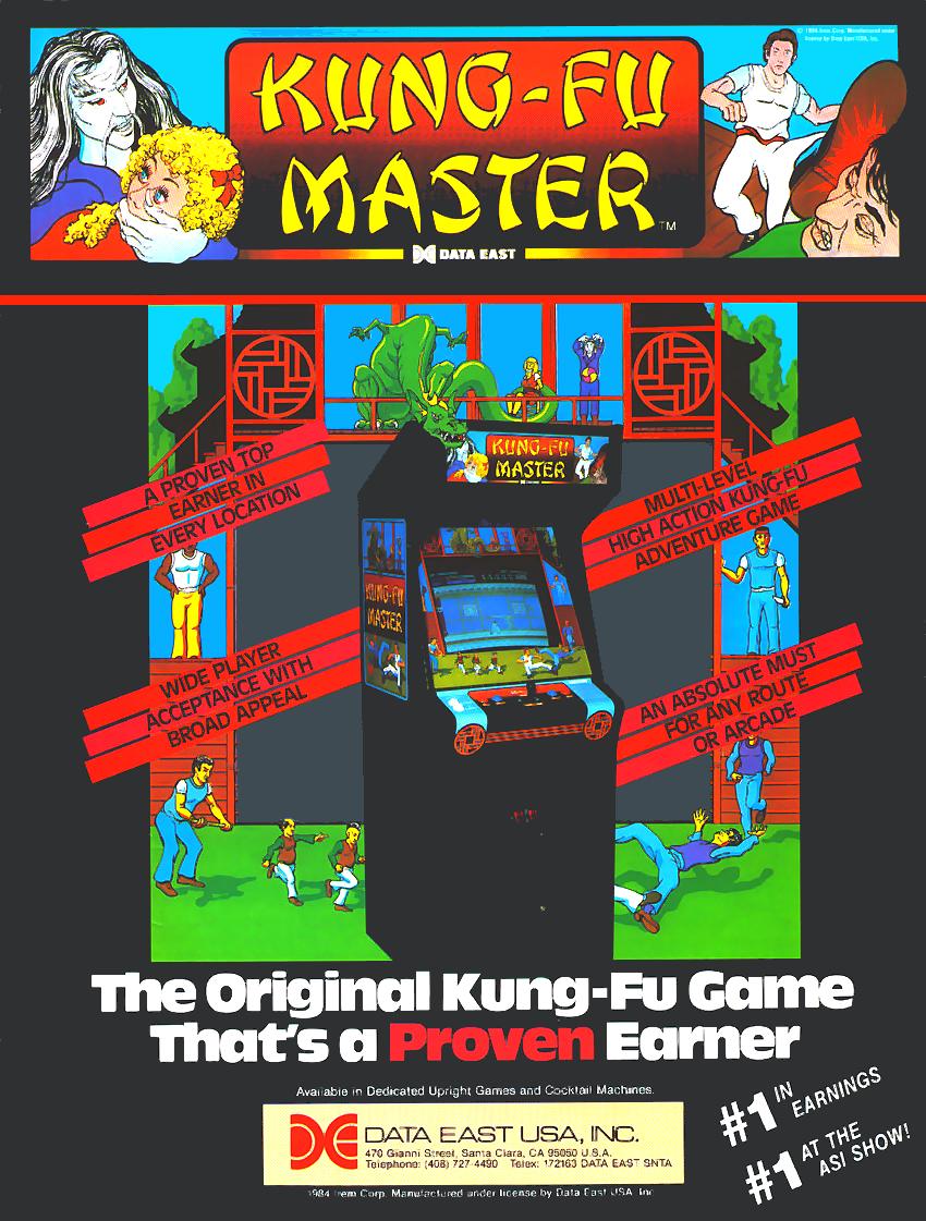 Kung Fu Master Nes Rom