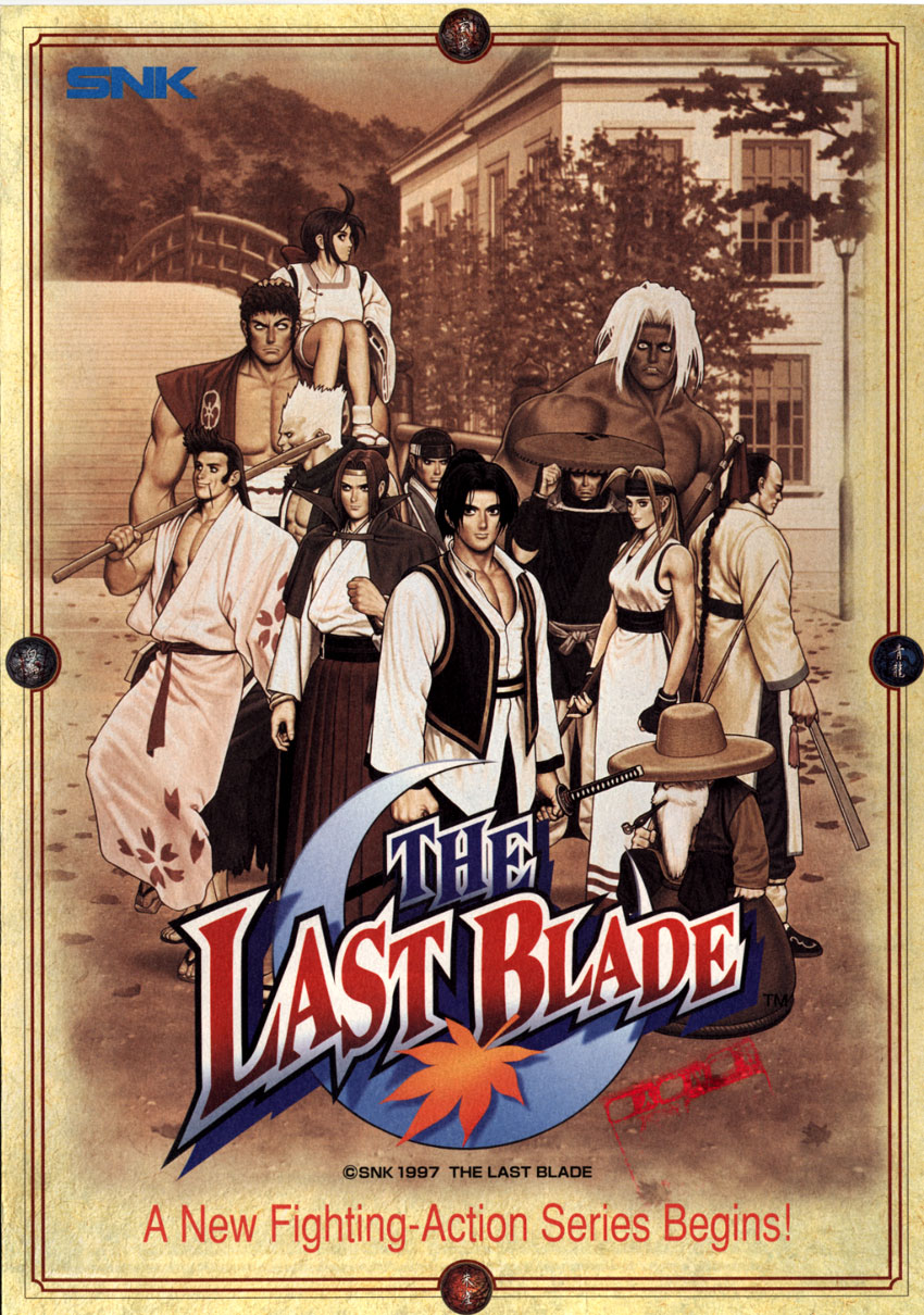 Last Blade / Bakumatsu Roman: Gekka no Kenshi, The (Set 1) flyer