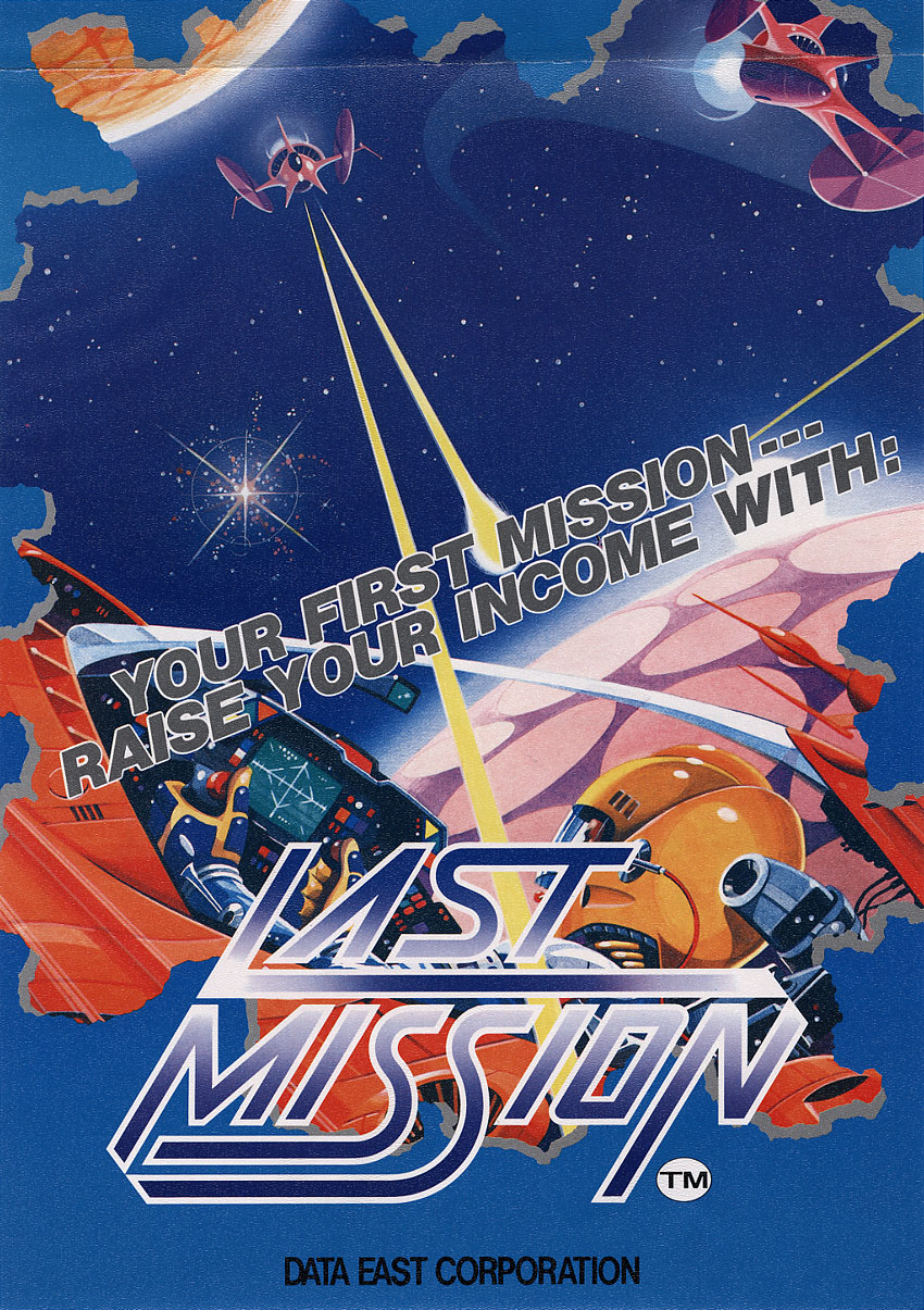 Last Mission (US revision 6) flyer