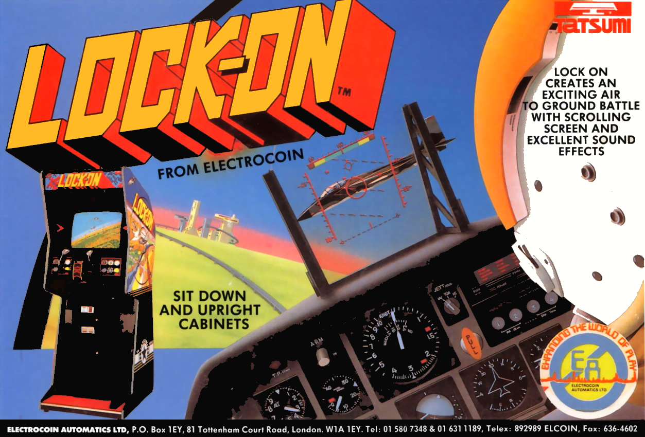 Lock-On (rev. E) flyer