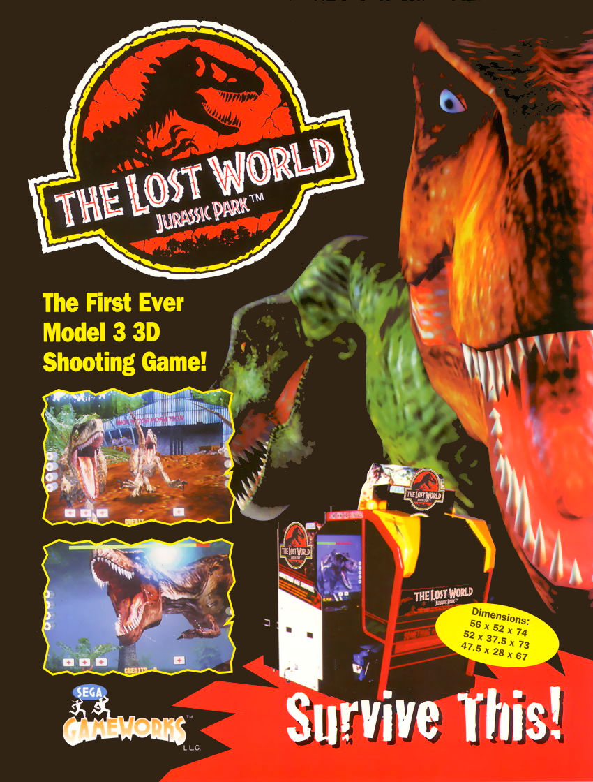 The Lost World (Japan, Revision A) flyer