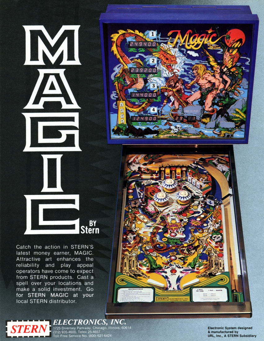 Magic flyer