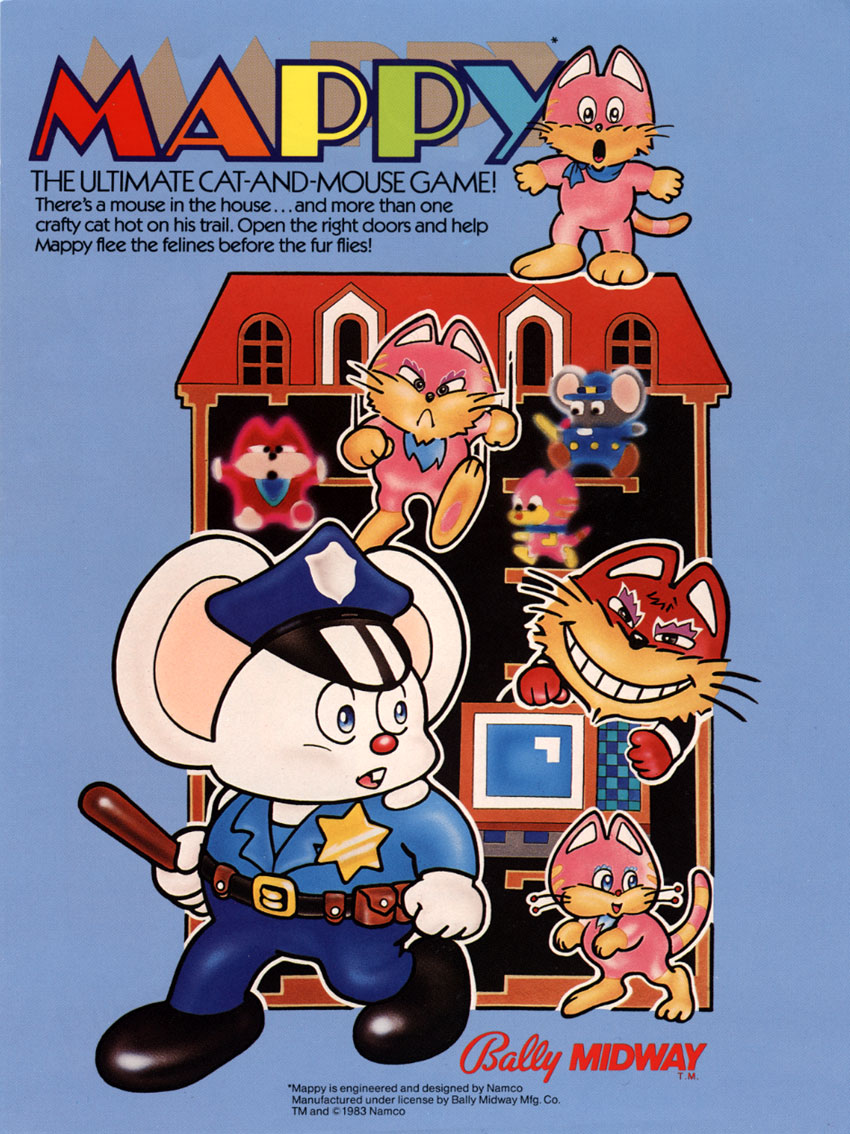 Mappy (US) flyer