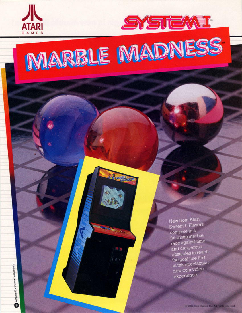 Marble Madness (set 1) flyer