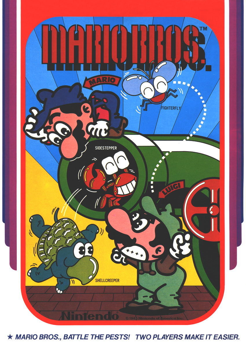 Mario Bros. (US, Revision E) flyer