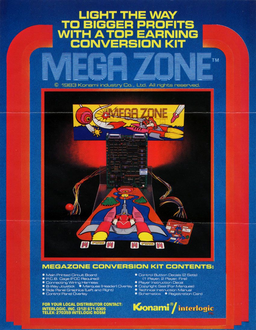 Mega Zone (Kosuka set 1) flyer