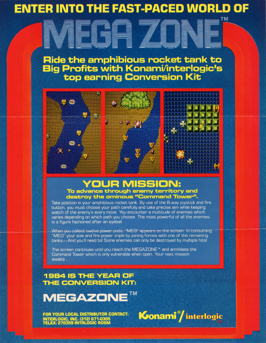 Mega Zone (Kosuka set 2) flyer
