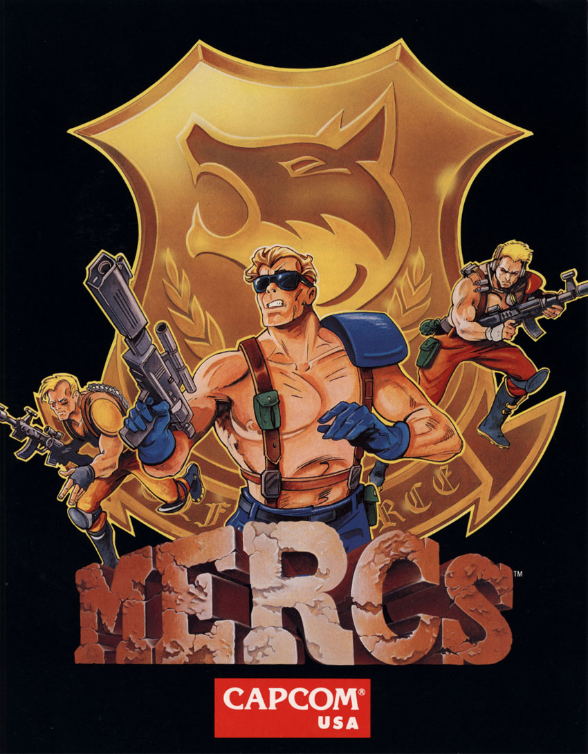 Mercs (USA 900302) flyer