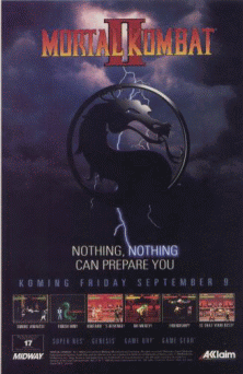 Mortal Kombat II (rev L1.4) flyer