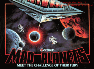 Mad Planets flyer