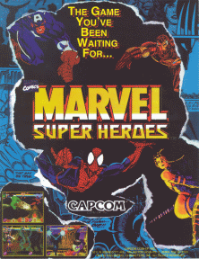 Marvel Super Heroes (Euro 951024) flyer