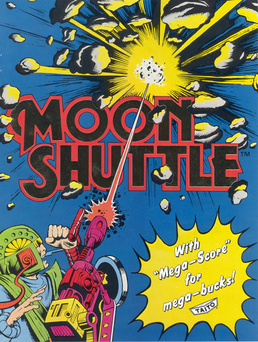 Moon Shuttle (US? set 1) flyer