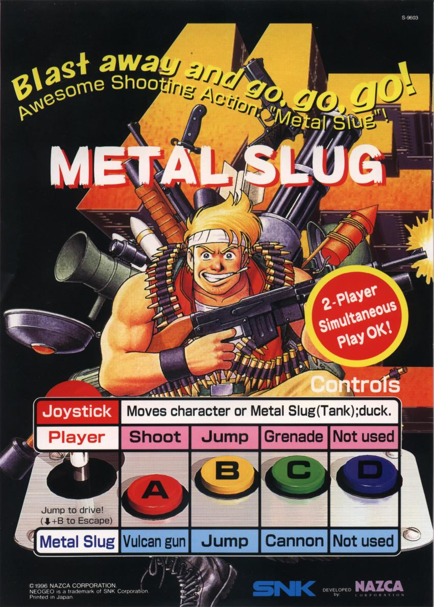 Metal Slug - Super Vehicle-001 flyer