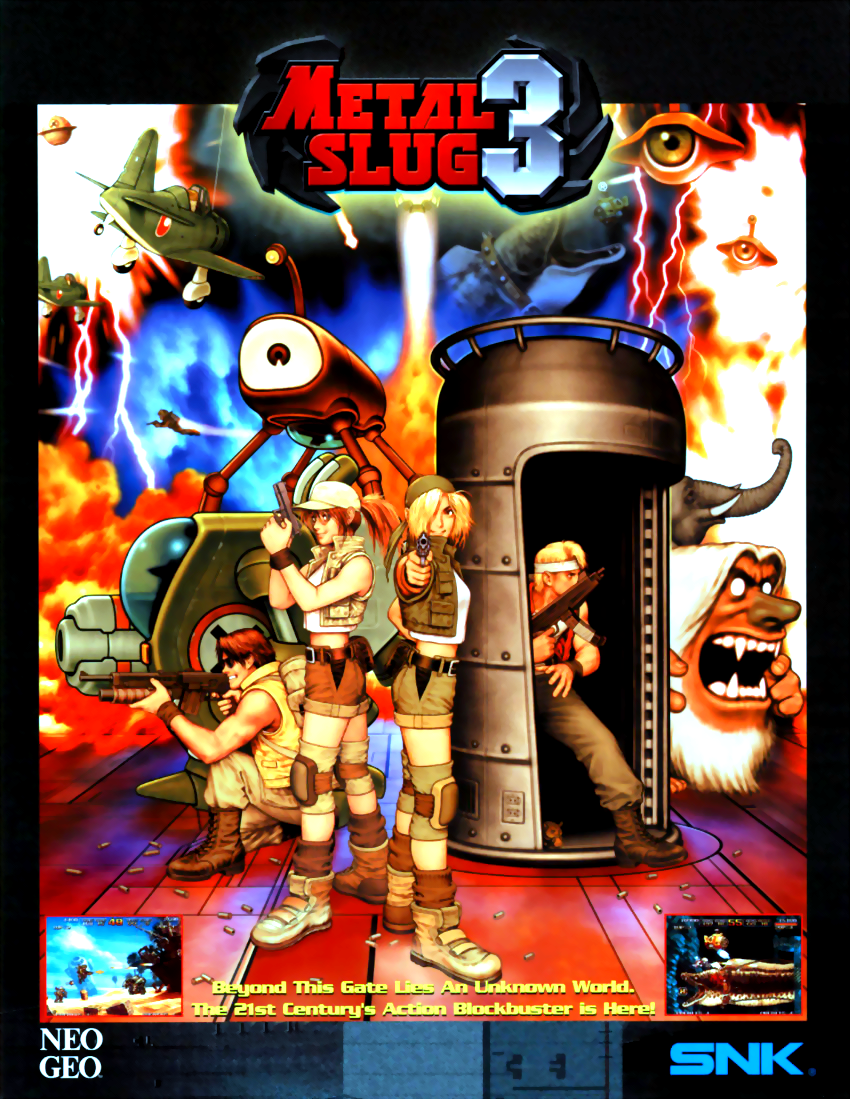 Metal Slug 3 (NGM-2560) flyer