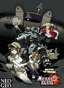 Metal Slug 5 flyer