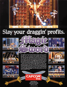 Magic Sword: Heroic Fantasy (USA 900725) flyer