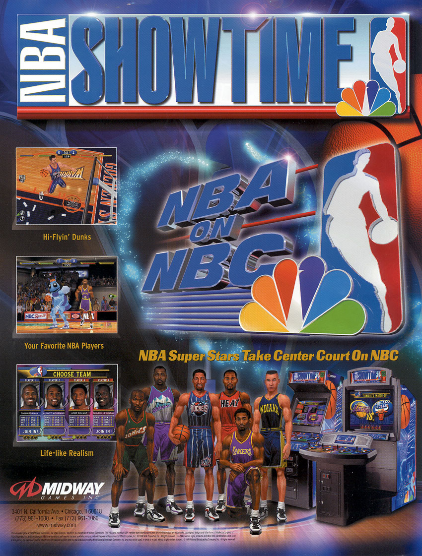 NBA Showtime: NBA on NBC (ver 2.0) flyer