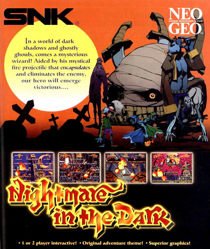 Nightmare in the Dark flyer