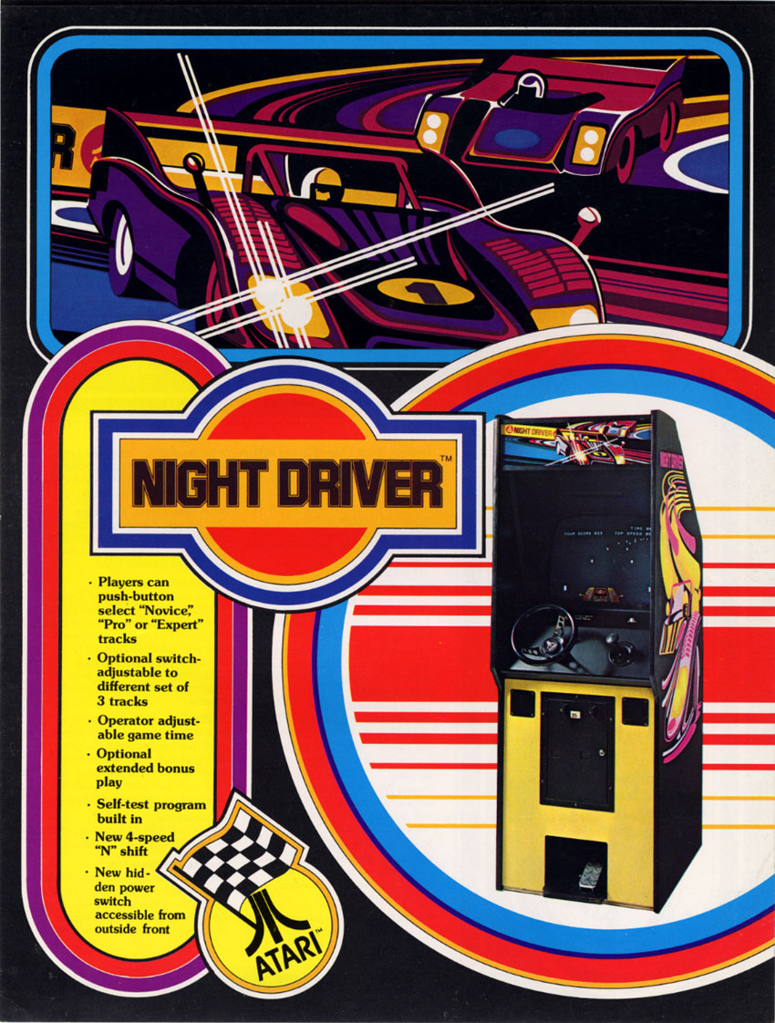 Night Driver flyer