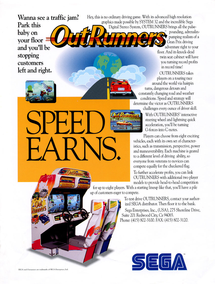 OutRunners (World) flyer