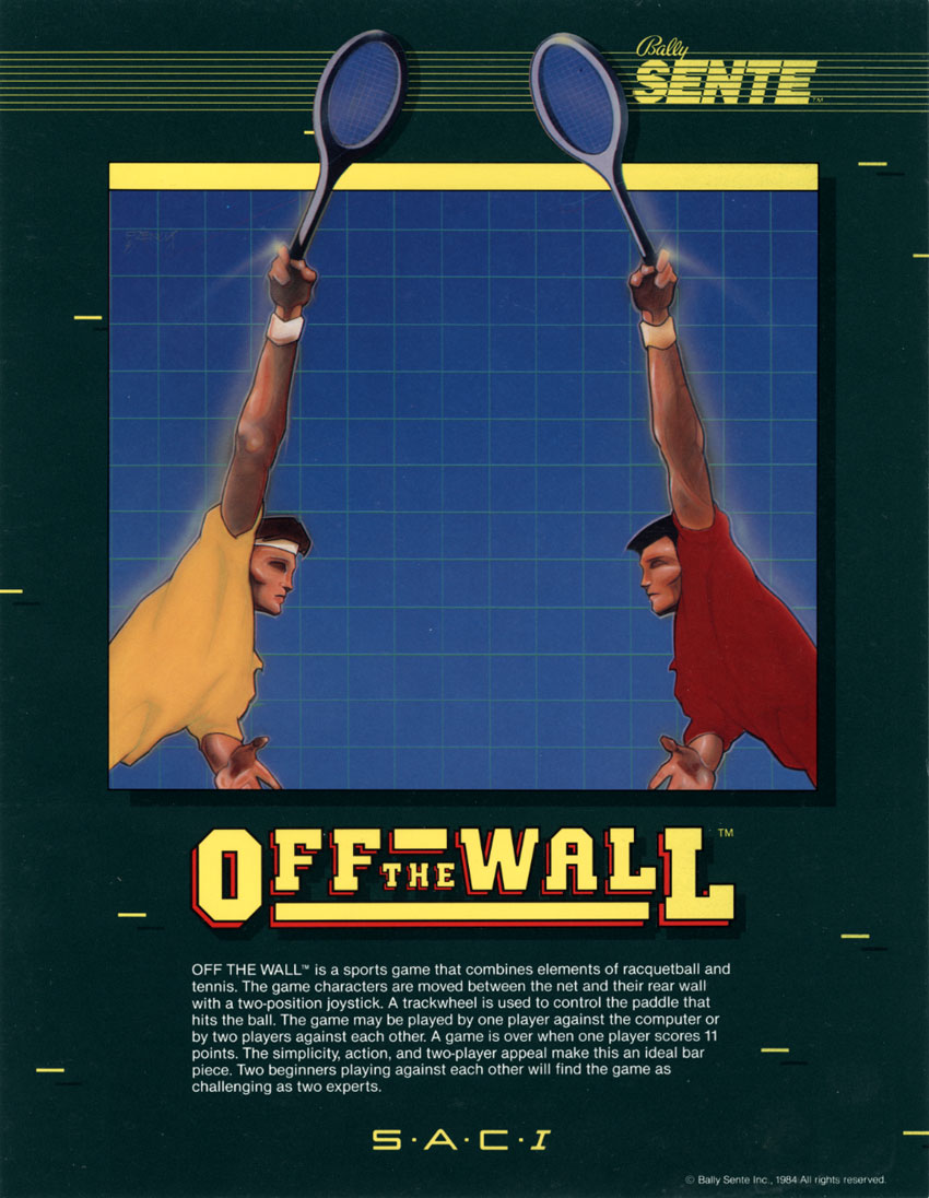 Off the Wall (Sente) flyer