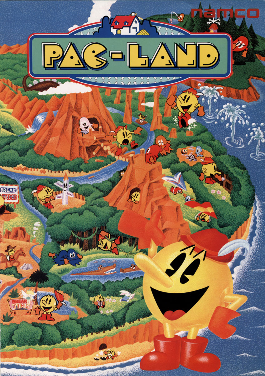 Pac-Land (World) flyer