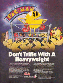 Pac-Man (Midway, harder) flyer