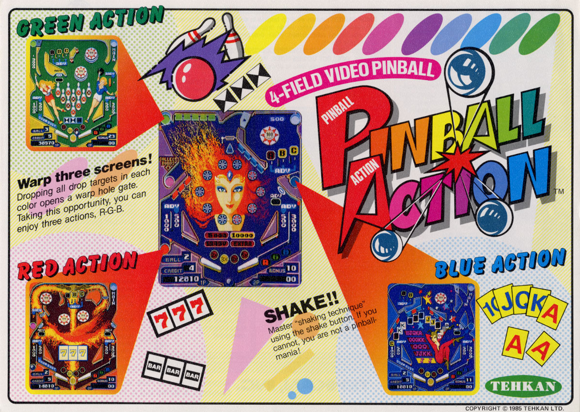 Pinball Action (set 1) ROM < MAME ROMs | Emuparadise
