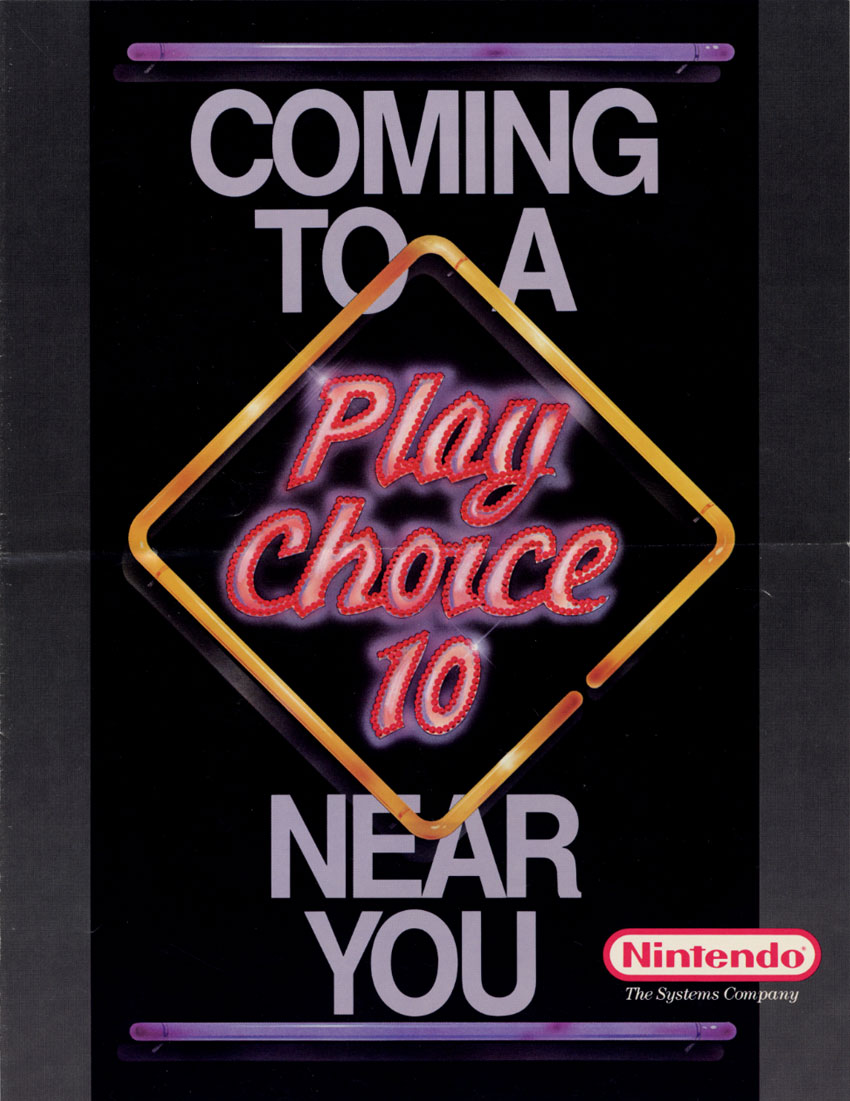 PinBot (PlayChoice-10) flyer