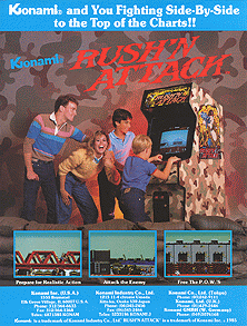 Rush'n Attack (PlayChoice-10) flyer