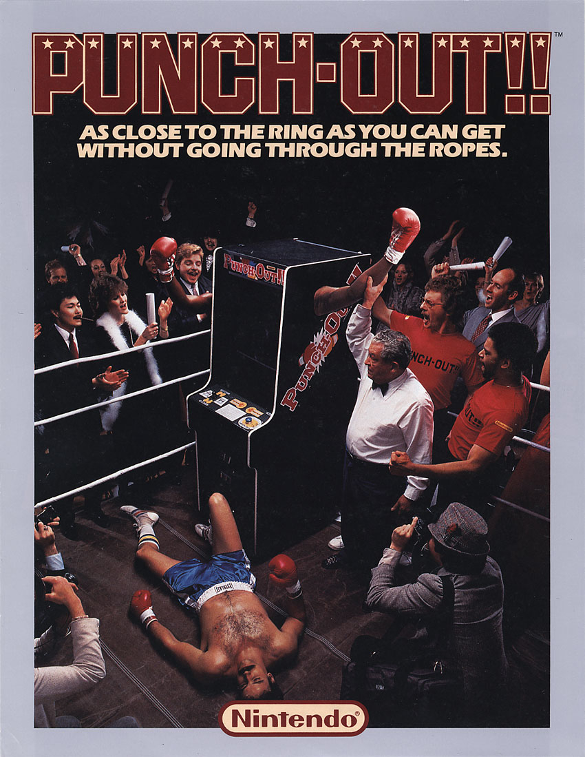 Punch-Out!! (Rev B) flyer