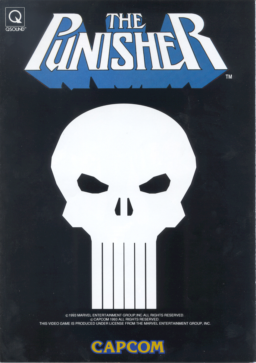 The Punisher (Japan 930422) flyer