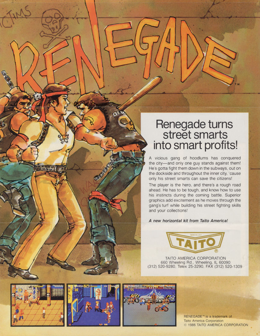 Renegade (US) flyer