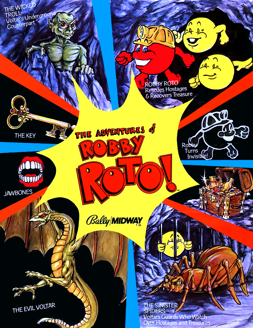 The Adventures of Robby Roto! flyer