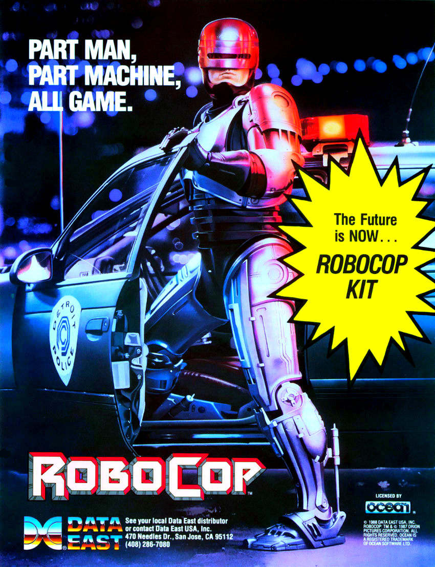 Robocop (US revision 0) flyer