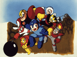 Rockman: The Power Battle (CPS1, Japan 950922) flyer