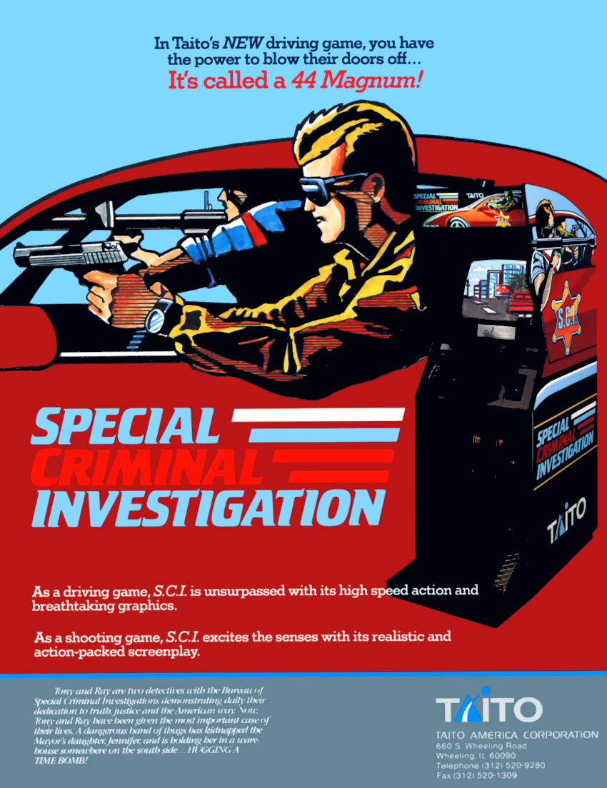 Special Criminal Investigation (World set 1) flyer