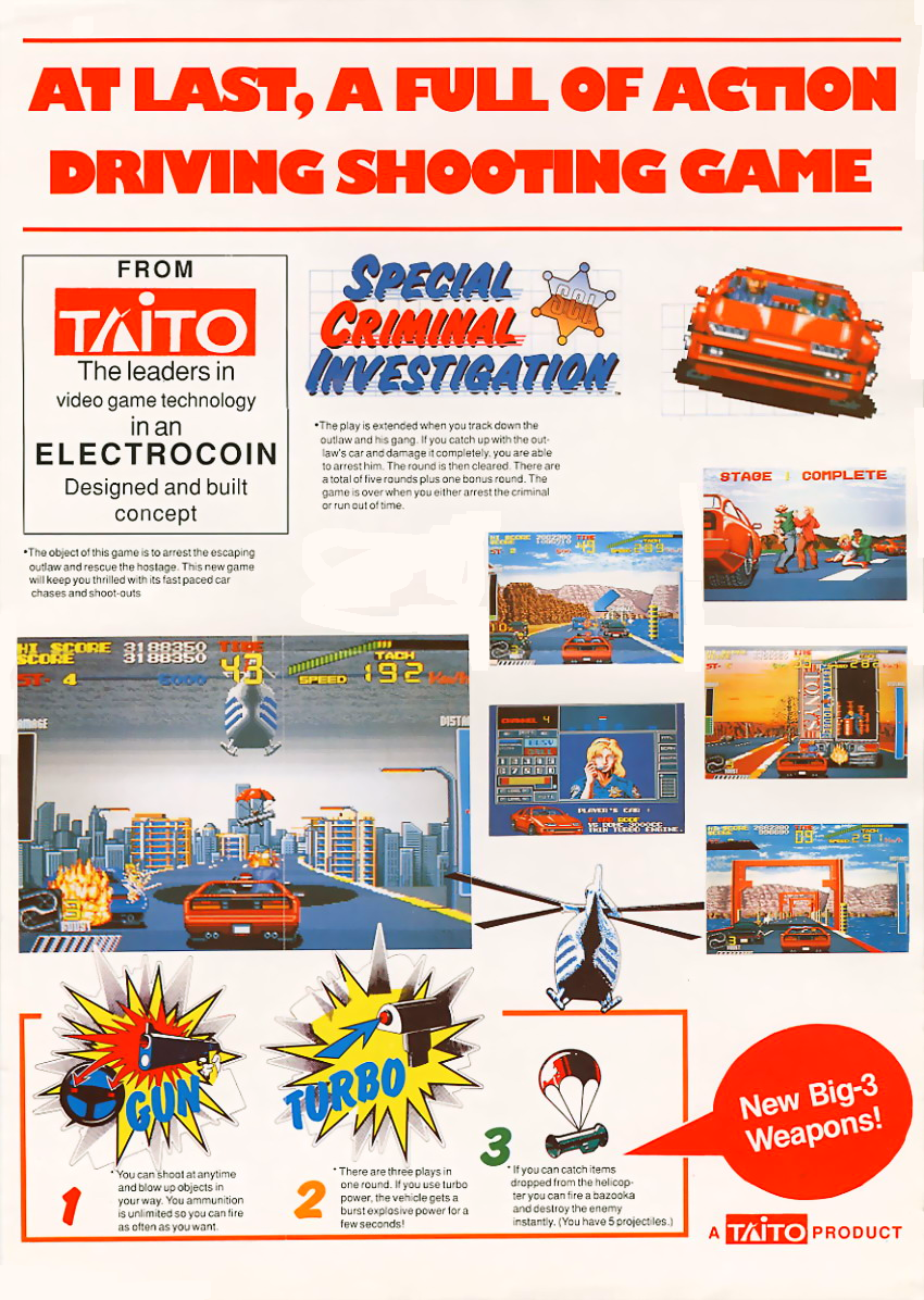 Special Criminal Investigation (World set 2) flyer