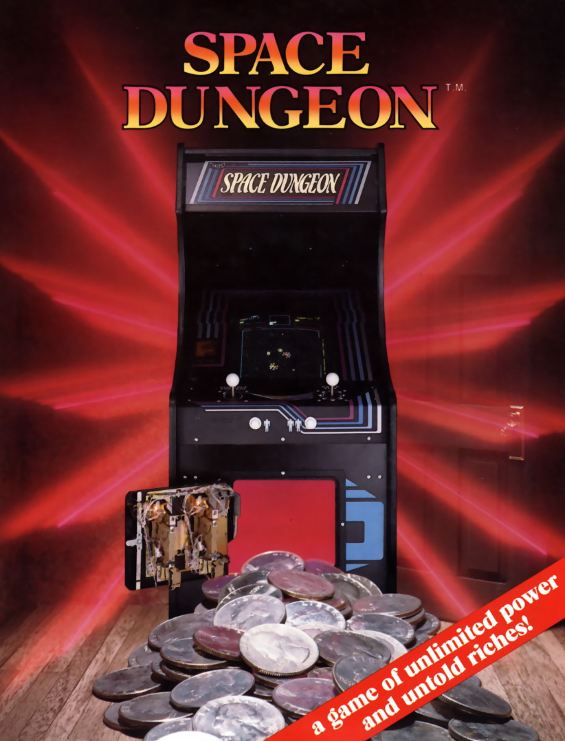 Space Dungeon flyer