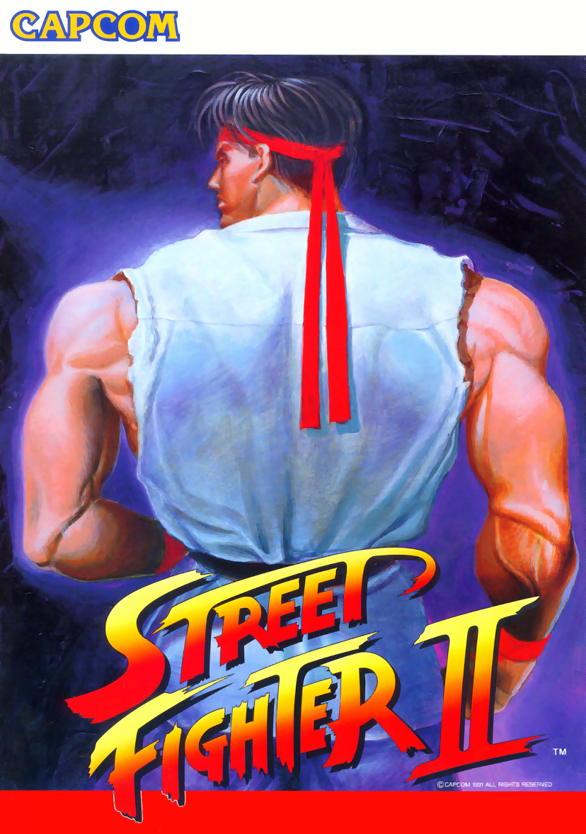 Street Fighter II: The World Warrior (World 910522) flyer