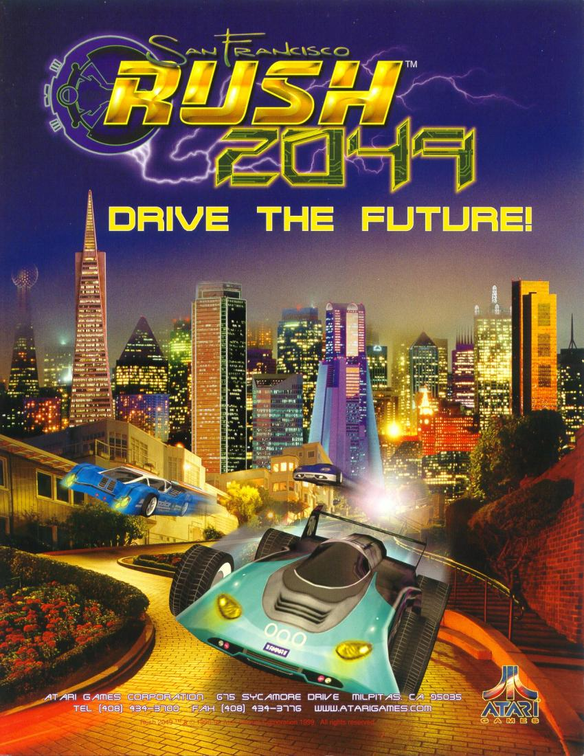 San Francisco Rush 2049 flyer