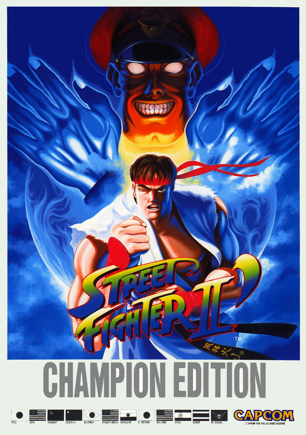 Street Fighter II': Champion Edition (World 920313) flyer